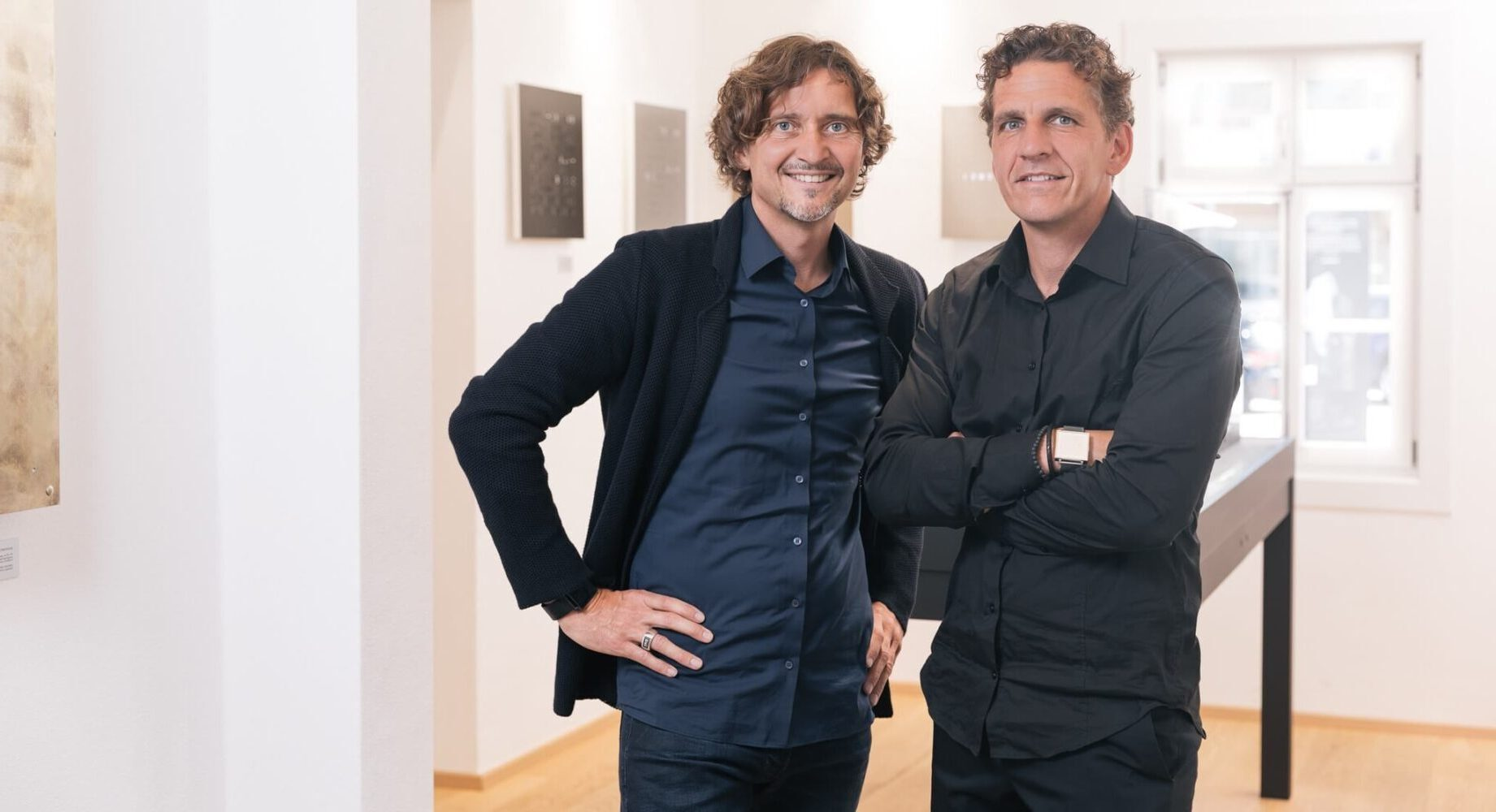 Marco Biegert e Andreas Funk, fondatori di QLOCKTWO